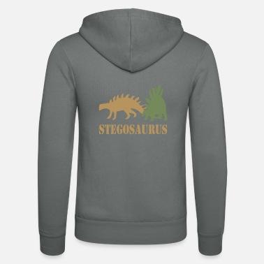 Stegosaurus Stegosaurus - Unisex Hooded Jacket by Bella + Canvas