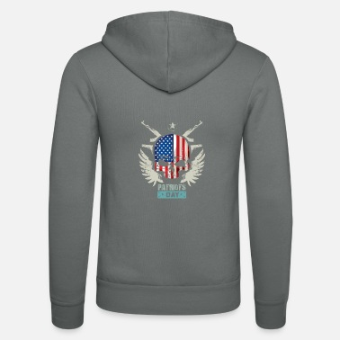Patriot Day Patriots USA Patriots Day - Unisex Zip Hoodie