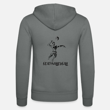Beach Volleyball Beach volleyball - beach volleyball - volleyball - Unisex Zip Hoodie