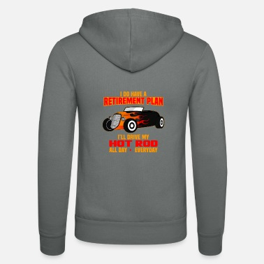 Hot Rod Classic Car Classic Car Roadster Coupe - Zip hoodie unisex