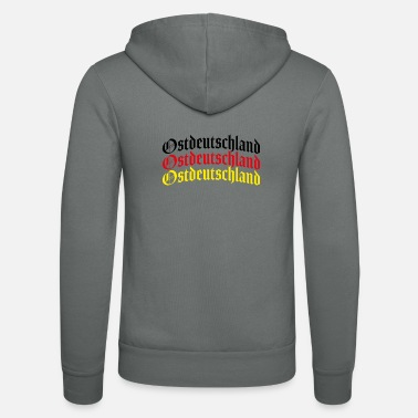 East East Germany East Germany - Unisex Zip Hoodie