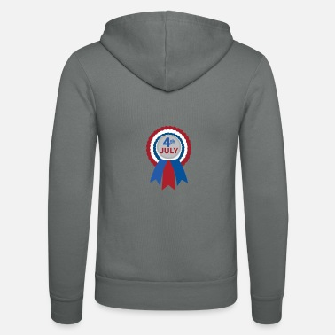 4th July 4th July - 4th July - Unisex Zip Hoodie
