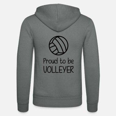 Volleyer Proud to be Volleyer - Unisex Zip Hoodie