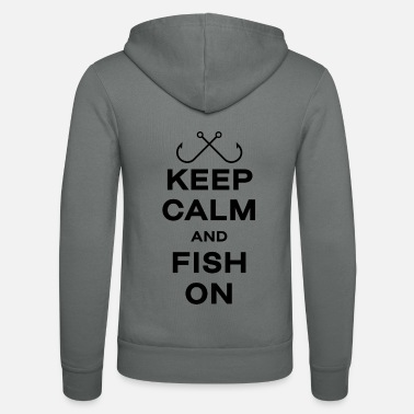Fly Fishing fishing gift angler fisherman fish keep - Unisex Zip Hoodie
