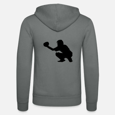 Catcher Softball Sport - Unisex zip hoodie