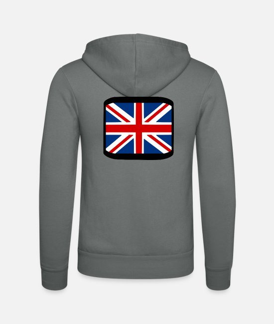 Love Hoodies & Sweatshirts - England - Unisex Zip Hoodie grey