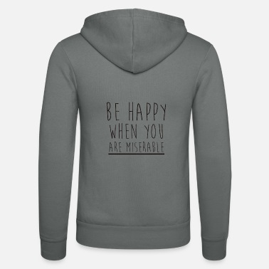 Asap Rocky BE HAPPY - Nuestra chaqueta con capucha de Bella + Canvas