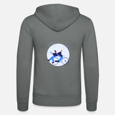 Comic Clip - Spending time together - Unisex Zip Hoodie