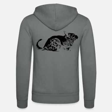 Chinchilla Holder Sweet Chinchilla | Gift holder Chinchichillas - Unisex Zip Hoodie