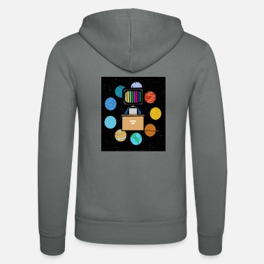 Space student schoolcontest - Unisex zip hoodie