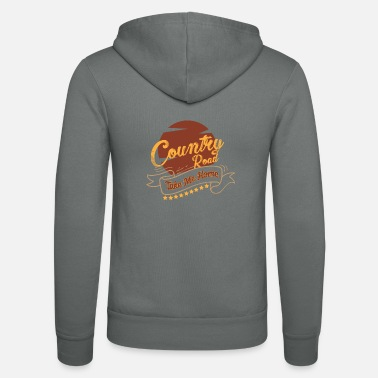 Country Country musik country musik country musik gave - Unisex hættejakke fra Bella + Canvas
