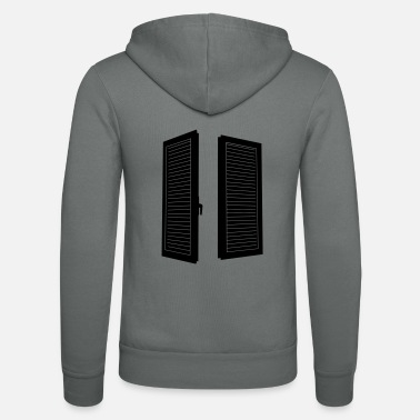 Windows window shutters_p1 - Unisex Zip Hoodie
