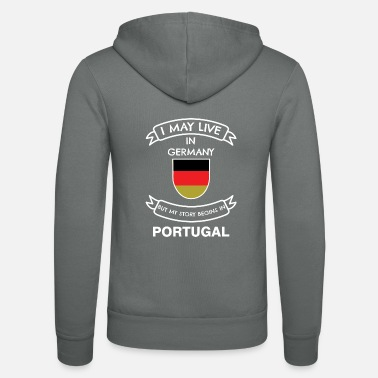 Portugal Portuguese in Germany - Unisex Zip Hoodie