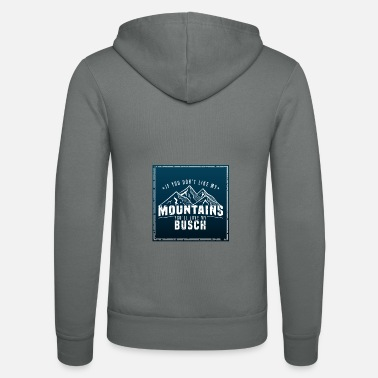 Sexual Innuendo Mountains bush hiking Sexual allusion gift - Unisex Zip Hoodie