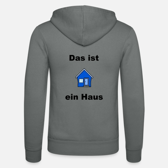 House Keeper Hoodies & Sweatshirts - House - Unisex Zip Hoodie grey