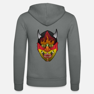 Asiatic Mask Asian Mask - Unisex Zip Hoodie