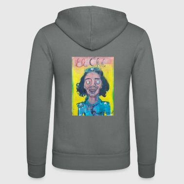 Che and hearts 5 - Unisex Hooded Jacket by Bella + Canvas