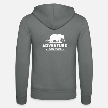 Sport ADVENTURE FOR EVER - GRIZZLY - Unisex hoodie van Bella + Canvas
