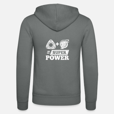 Mégacatastrophe ROTA Plus TURBO Mécanique Super Power Equal TSHIRT - Veste à capuche unisexe