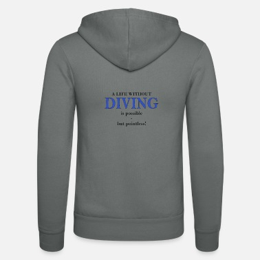 Scuba DIVING - Felpa con zip unisex