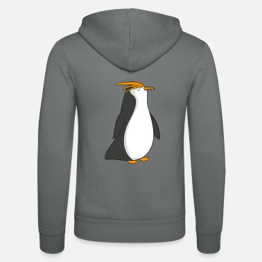 Penguin penguin - Unisex Hooded Jacket by Bella + Canvas