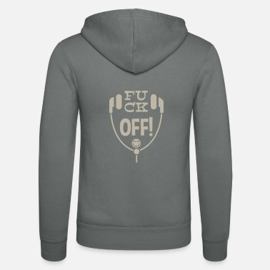Leible Fuck off! - Leibl Designs - Unisex Zip Hoodie