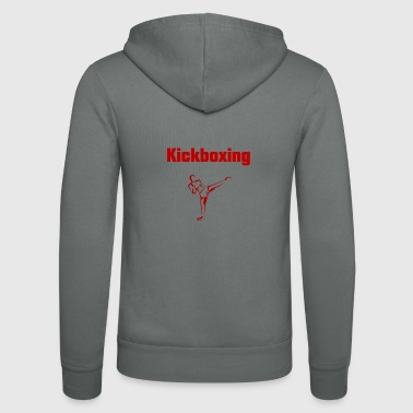 Kickboxing - Unisex Hooded Jacket by Bella + Canvas