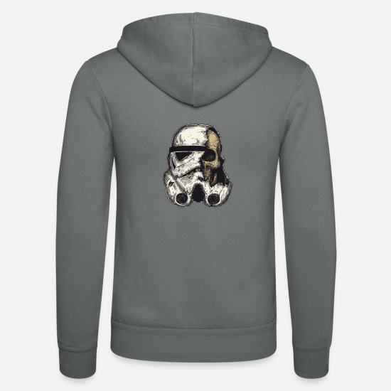 Trooper Hoodies & Sweatshirts - Trooper - Unisex Zip Hoodie grey