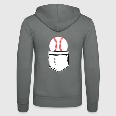 baseball - Unisex Bella + Canvas -hupputakki