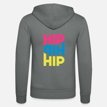 Hippie Hip Hip Hip - Personnalisable - Veste à capuche unisexe Bella + Canvas