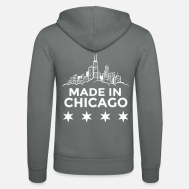Chicago Made in Chicago - Unisex Zip Hoodie