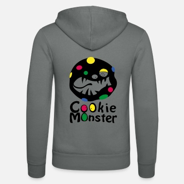 Monster Cookie Monster (b) - Unisex Kapuzenjacke