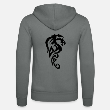 Skull Tribal dragon - Unisex hupputakki