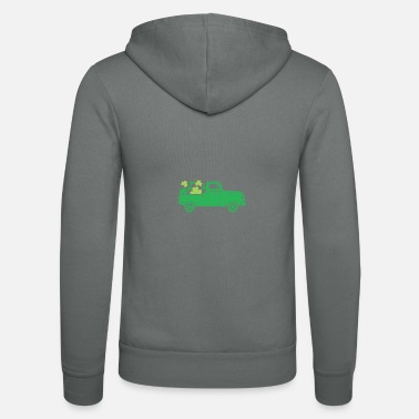 Sassy Funny Irish Quote St Patricks Day Design - Unisex Zip Hoodie