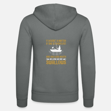 Fishery Fishing fish sport fisherman funny sayings - Unisex Zip Hoodie