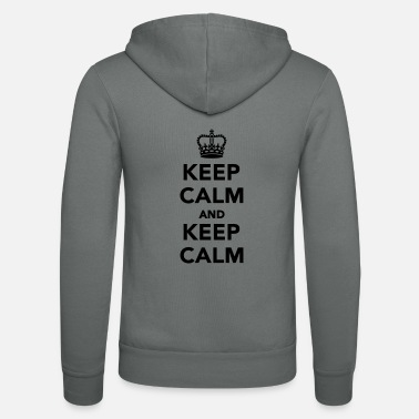 Keep Calm Keep calm and Keep calm - Unisex hupputakki