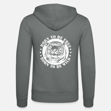 Date Of Birth Birth dates and to be wild! - Unisex Zip Hoodie