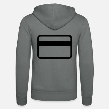 Cards credit card - Unisex zip hoodie