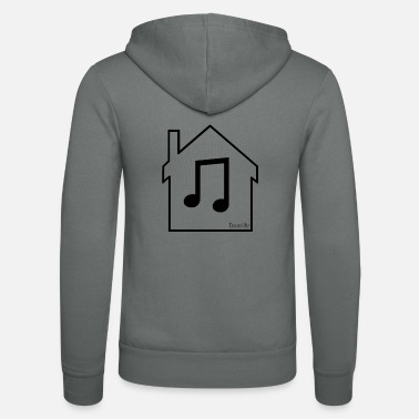House House Music Men's Tshirt - Unisex Zip Hoodie