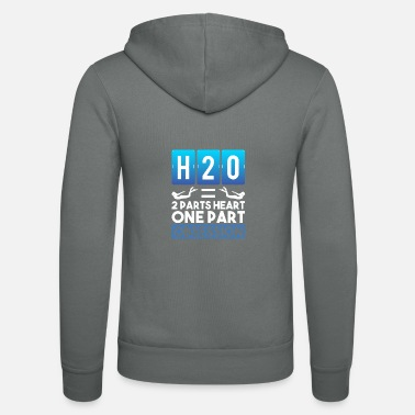 Swim Swimming Gifts for Swimmers - Unisex Zip Hoodie