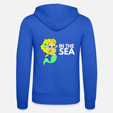 Girlish Girlish on the high seas Mermaid - Unisex Zip Hoodie