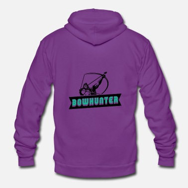 Bowhunter Bowhunter Archery Archer poison - Unisex Zip Hoodie