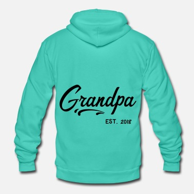 Grandpa Grandpa grandpa grandpa grandpa gift - Unisex Hooded Jacket by Bella + Canvas