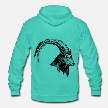 Capricorn Capricorn - Unisex Hooded Jacket by Bella + Canvas