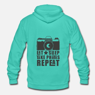 Photographer Photographer Camera Photo Photographing Camera - Unisex Hooded Jacket by Bella + Canvas