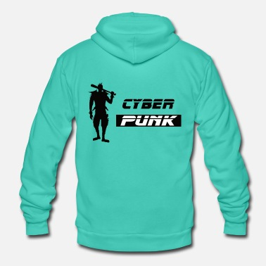 Cyber Punk Cyber Punk 01 - Unisex Hooded Jacket by Bella + Canvas