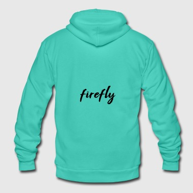 Firefly firefly - Unisex Hooded Jacket by Bella + Canvas
