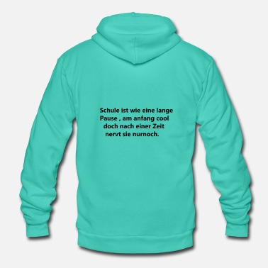 Funny Funny saying - Unisex Hooded Jacket by Bella + Canvas