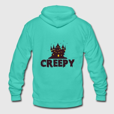 Creepy CREEPY - Unisex Hooded Jacket by Bella + Canvas