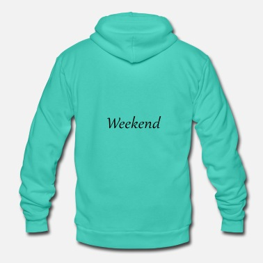 Weekend Weekend Weekend - Felpa con cappuccio di Bella + Canvas